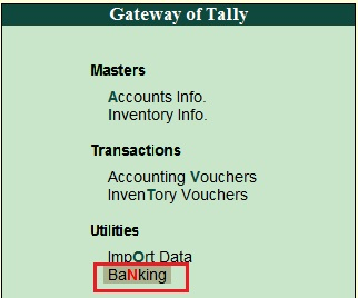 Bank Reconciliation Statement (BRS) in Tally - Waytosimple